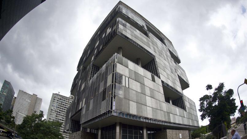 Le siège de la compagnie nationale Petrobras à Rio de Janeiro, responsable d'un méga scandale de corruption.