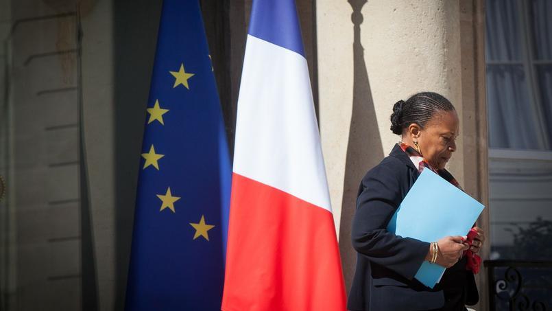 58% des personnes interrogées perçoivent le départ de Christiane Taubira comme une bonne chose pour François Hollande.