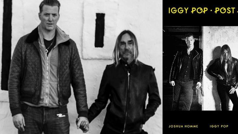 Josh Homme et Iggy Pop ont annoncé leur tournée main dans la main, un jour après avoir publié Break Into Your Heart, deuxième extrait de leur album commun Post Pop Depression.