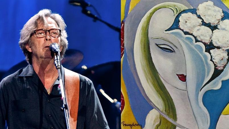 Le fils d'Émile Frandsen avait donné à Éric Clapton, en 1970, le tableau de son père intitulé La jeune fille au bouquet.