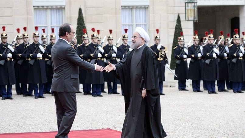 Contrats économiques, Syrie et Arabie saoudite : les trois clefs de la visite de Rohani en France
