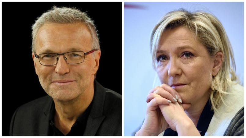 Laurent Ruquier/Marine Le Pen