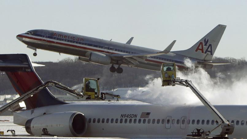 Des avions de la campagnie aérienne Américan Airlines (photo d'illustration).