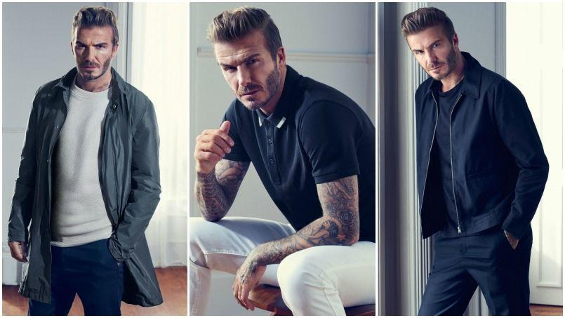 david beckham jongle entre style et sport pour h m. Black Bedroom Furniture Sets. Home Design Ideas