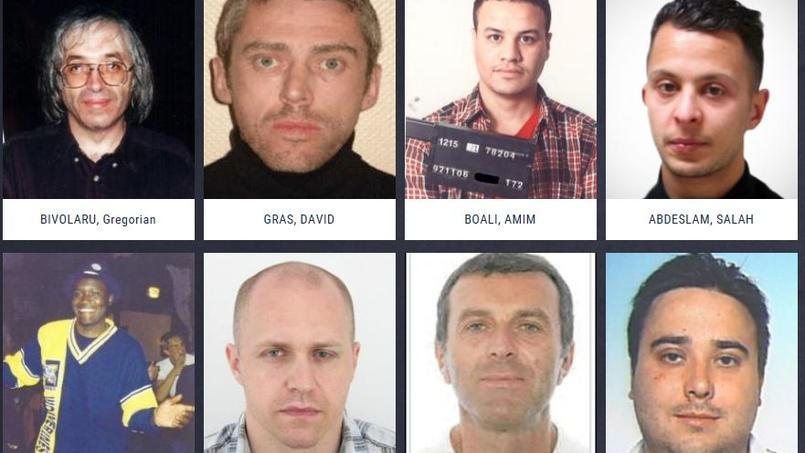 Capture d'écran du site d'Europol.