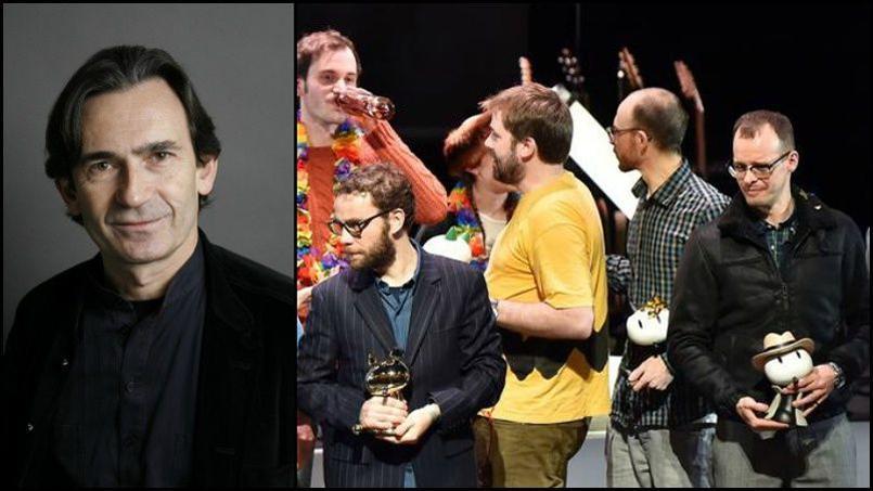 La traditionnelle soirée de remise de prix de cette 43e édition du Festival de bande dessinée d'Angoulême a été vivement critiquée par le dessinateur Benoît Peeters.