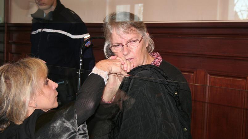 Jacqueline Sauvage avait vu sa peine de dix ans de prison pour le meurtre de son mari confirmée en appel en décembre.