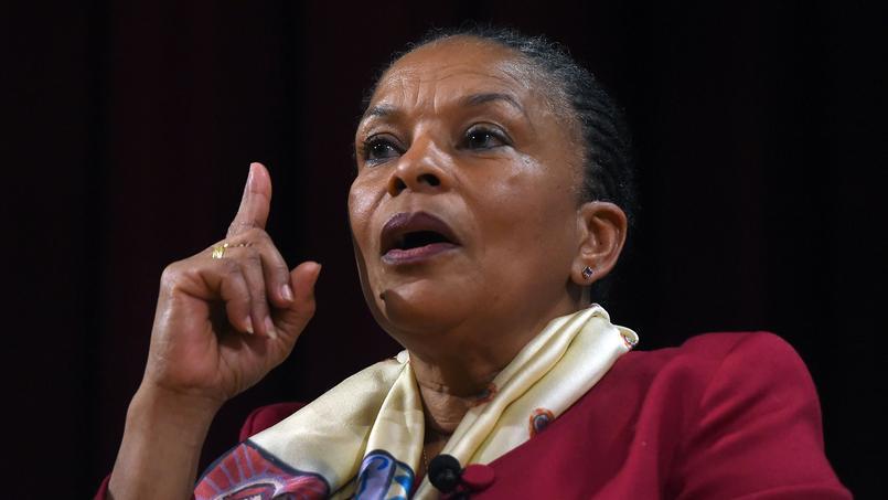 L'ancienne ministre de la Justice Christiane Taubira, le 29 janvier à New-York.