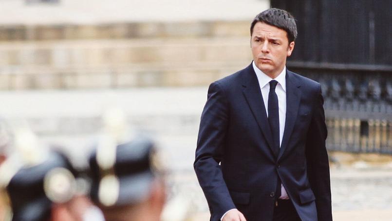 Matteo Renzi, le président du conseil italien.