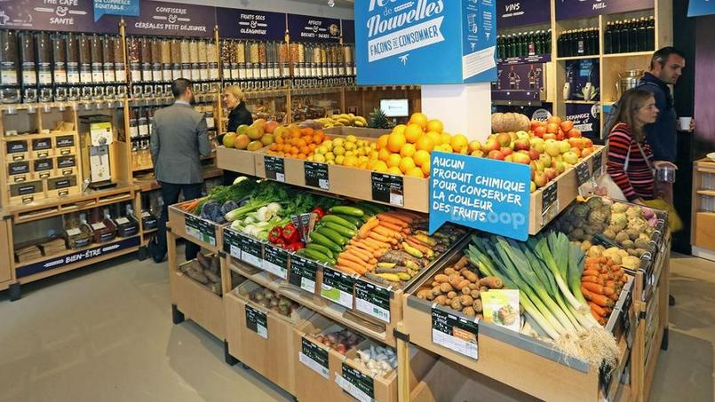 Les magasins Biocoop ont lancé il y a quelques mois des produits en «vrac», sans emballage.