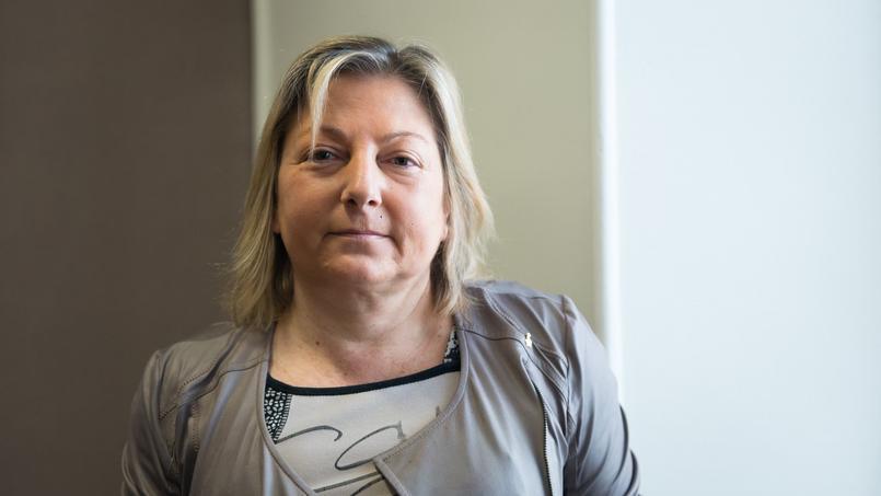 La maire de Calais Natacha Bouchart