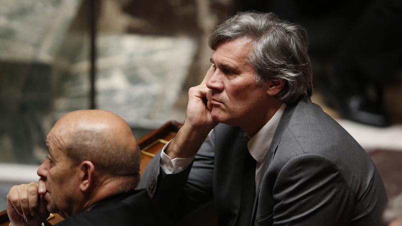 Stéphane Le Foll, lors de la séance de questions au gouvernement de ce mardi à l'Assemblée.