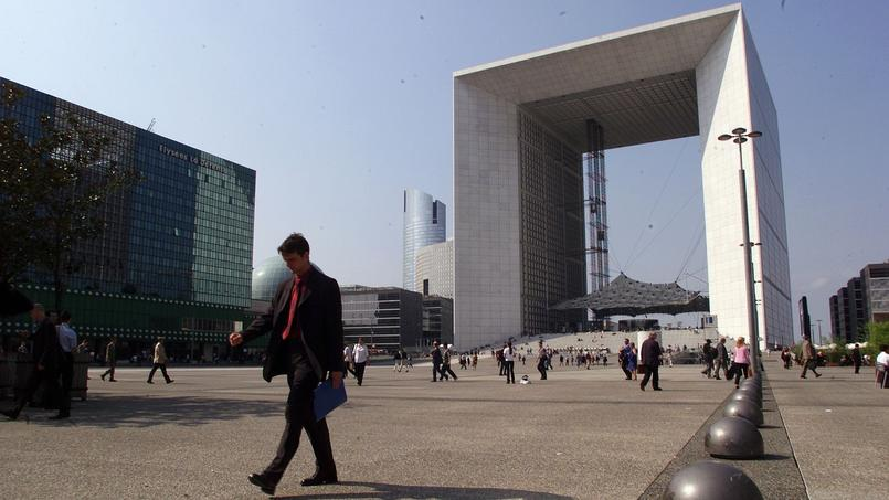 Plus du tiers des cadres travaillent en région parisienne (ici La Défense)