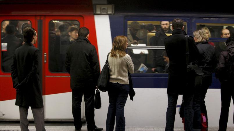 Un train sur deux circule sur les lignes A et B du RER.