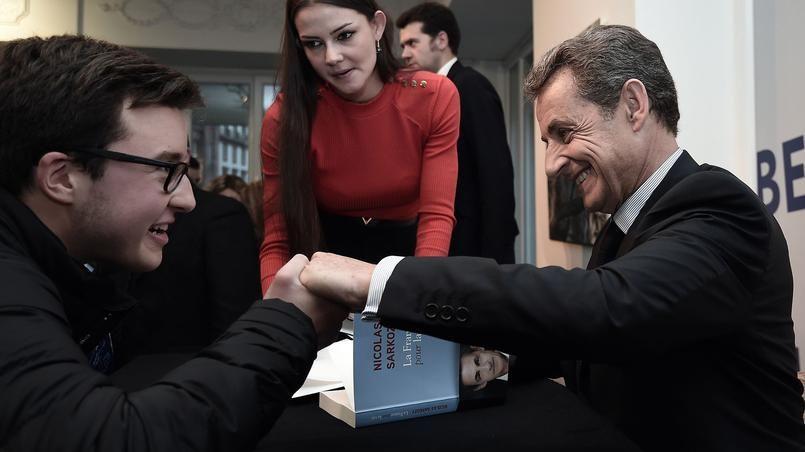 L'ancien président de la République, Nicolas Sarkozy