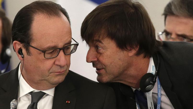 François Hollande et Nicolas Hulot