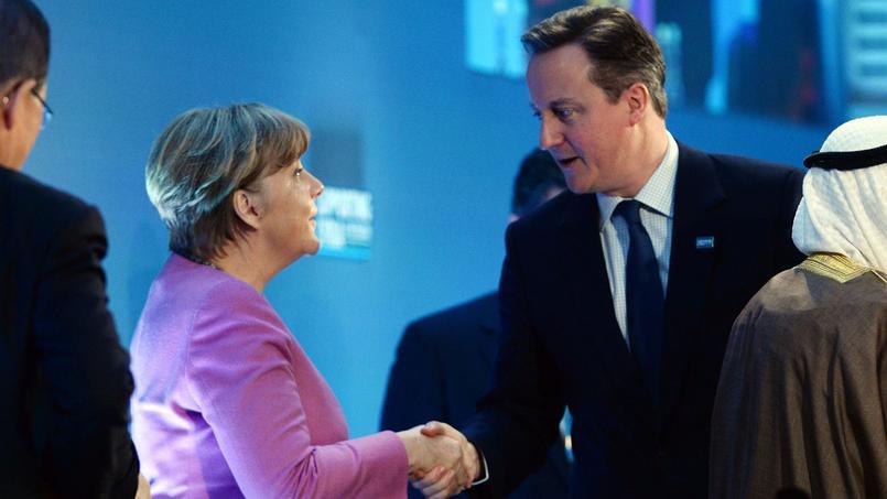 Angela Merkel et David Cameron