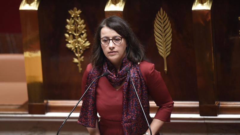 Cécile Duflot, ce vendredi matin à l'Assemblée nationale.