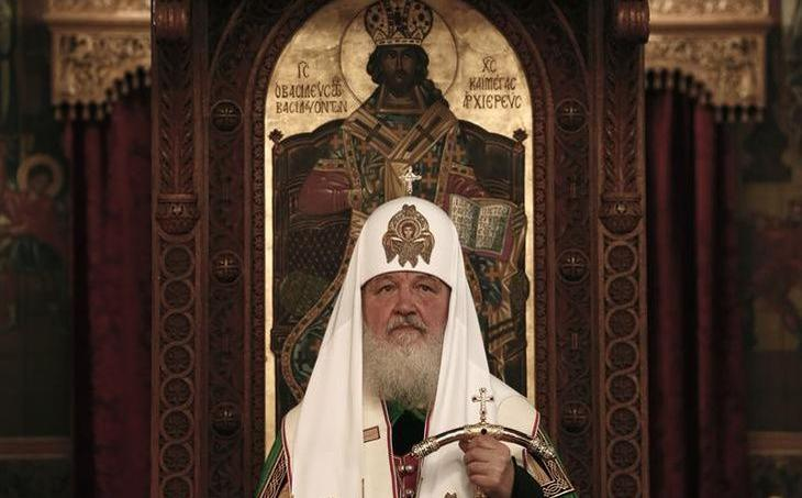 Le patriarche de l'Eglise orthodoxe russe Cyrille.