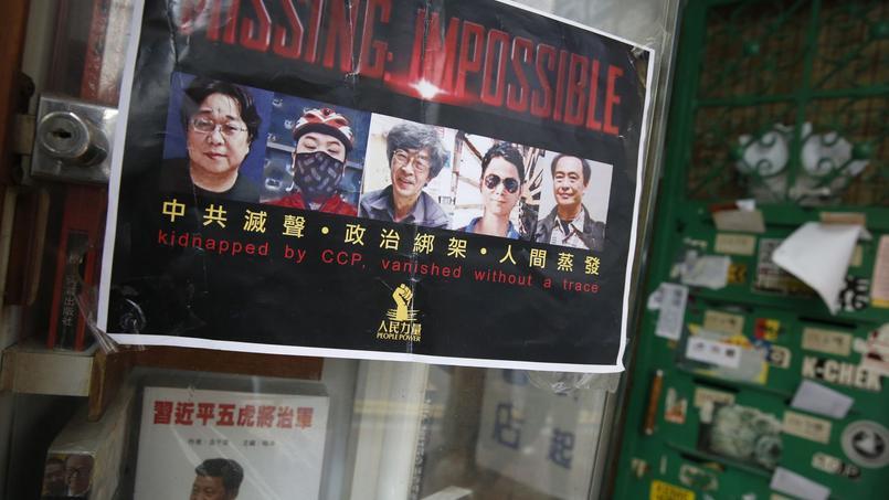 Le cas des cinq libraires disparu secoue l'ancienne colonie britannique, ravivant les craintes provoquées par l'interventionnisme de Pékin dans les affaires de ce territoire semi-autonome.