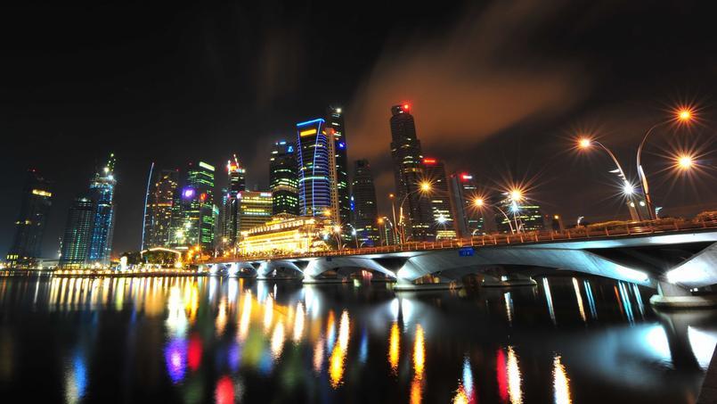 Singapour, où le compte de Jérôme Cahuzac avait été transféré, n'est pas listé comme un paradis fiscal (Crédit: Mike Behnken, Singapore, via Flickr sous licence Creative commons)