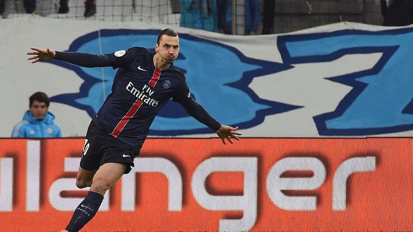 Ibrahimovic a marqué alors que Canal+, qui diffusait le match OM-PSG, était encore en clair.