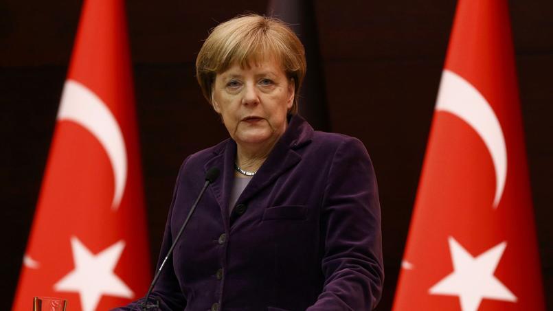 Angela Merkel en Turquie