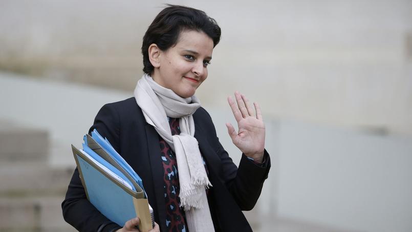 Najat Vallaud Belkacem, ministre de l'éducation nationale