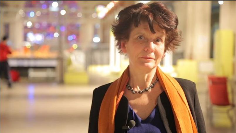 Gisèle Magnan créatrice des Concerts de Poche le 8 février 2016 lors de la soirée des 10 ans de l'association.