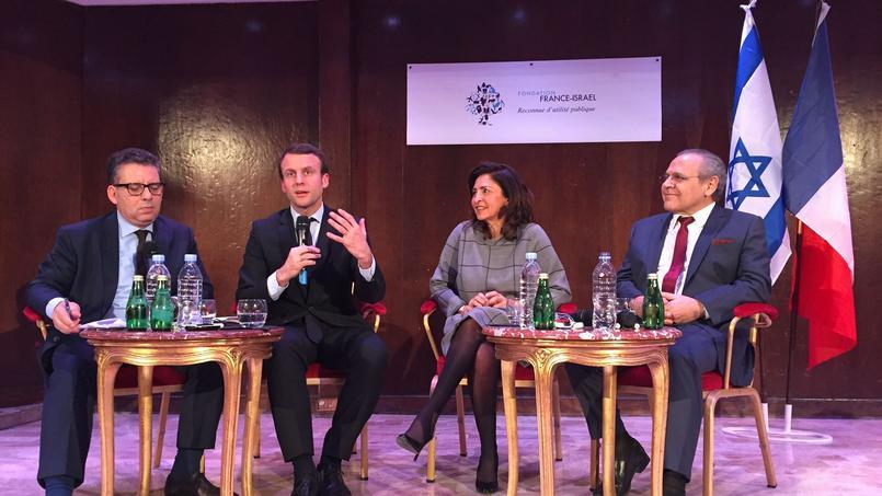 "She is afraid of ""Arabs disguised"" Emmanuel Macron pays tribute"