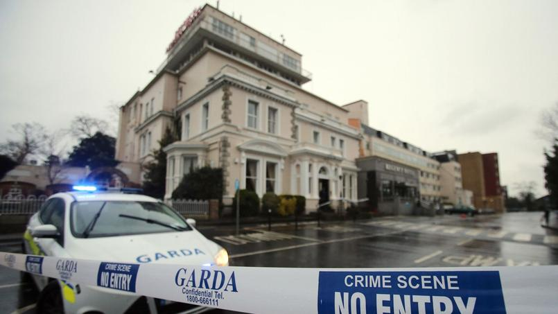 Le Regency Hotel à Dublin où la fusillade a eu lieu vendredi 5 février.