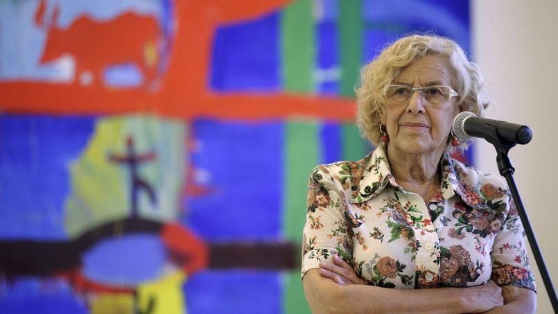 La maire de Madrid, Manuela Carmena.
