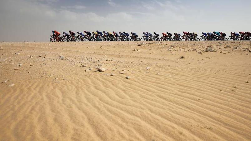 Mondiaux de cyclisme au Qatar : des ventilateurs le long des routes ?