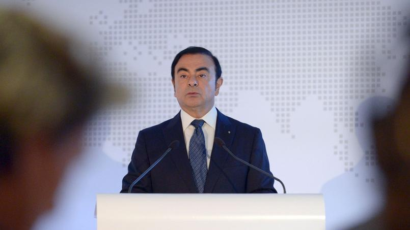 Carlos Ghosn, PDG du groupe Renault