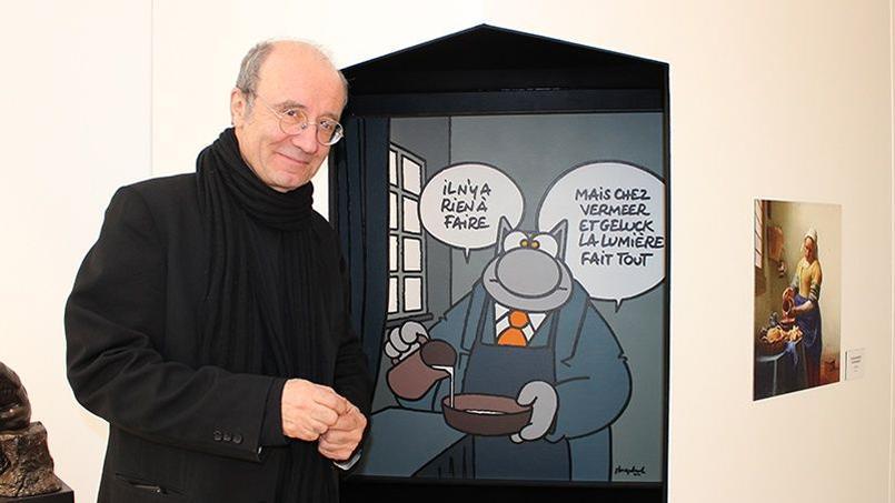 Philippe Geluck commente son interprétation de «La Laitière» de Johannes Vermeer.