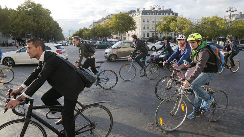 Aller au travail à vélo va rapporter 25 centimes par kilomètre