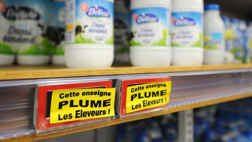 Stéphane Le Foll et Emmanuel Macron ont demandé aux différents acteurs de «faire des propositions concrètes» pour faire évoluer le cadre des négociations commerciales.