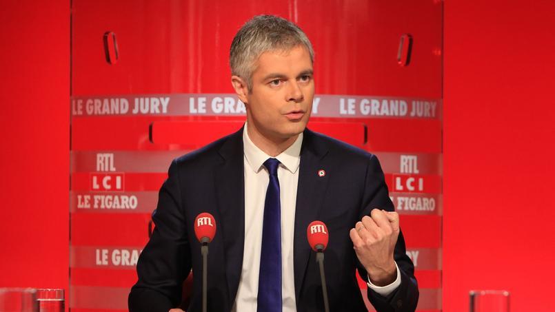 Laurent Wauquiez, invité dimanche du «Grand Jury RTL-Le Figaro-LCI»