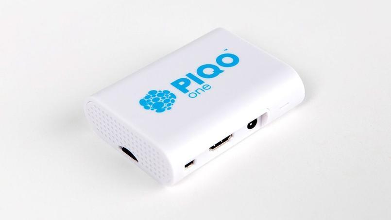 Le petit boîtier du Piqo One ne mesure que 9 centimètres sur 7.
