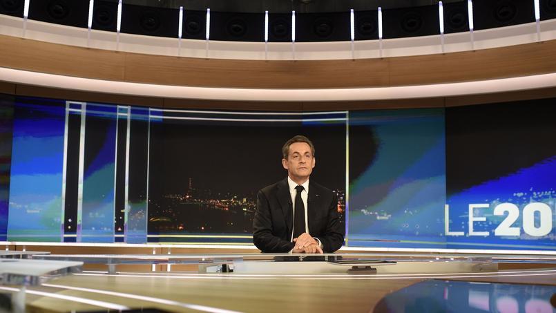 Nicolas Sarkozy sur TF1.