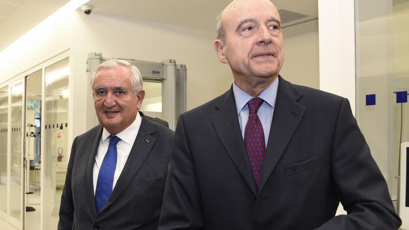 Jean-Pierre Raffarin et Alain Juppé.