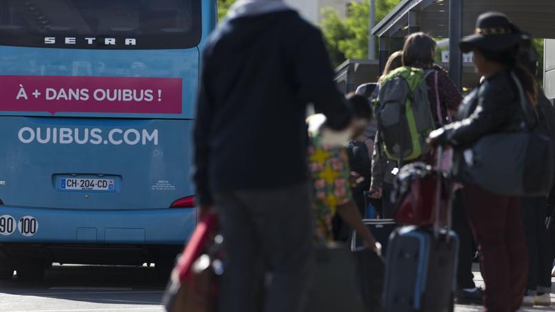 Le directeur marketing de Busbud, Simon Lejeune, n'envisage pas de hausse des tarifs avant un ou deux ans. Crédits photo: KENZO TRIBOUILLARD/AFP