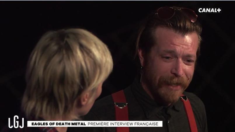 Les Eagles of Death Metal sont revenus sur le drame du Bataclan lors d'une interview accordée au «Grand Journal» de Canal+.