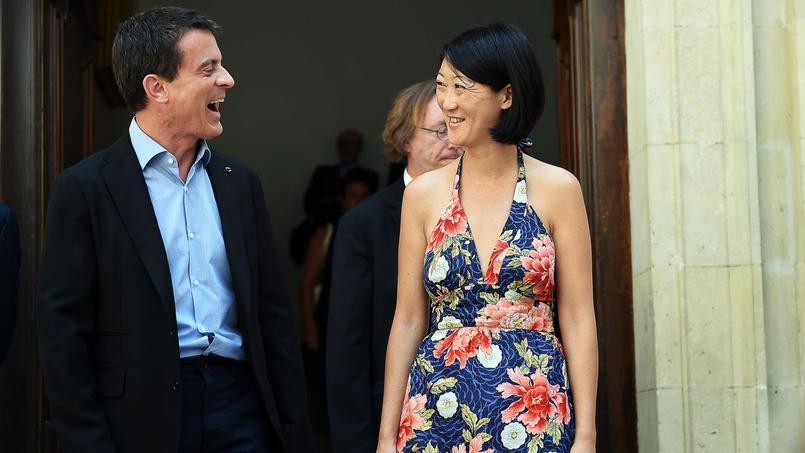 Manuel Valls et Fleur Pellerin, en juillet 2015.
