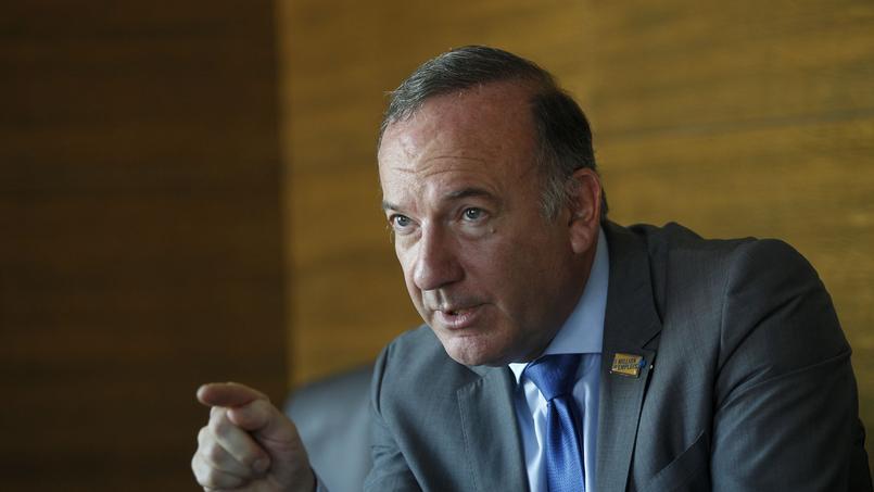 Pierre Gattaz est président du Medef depuis juillet 2013