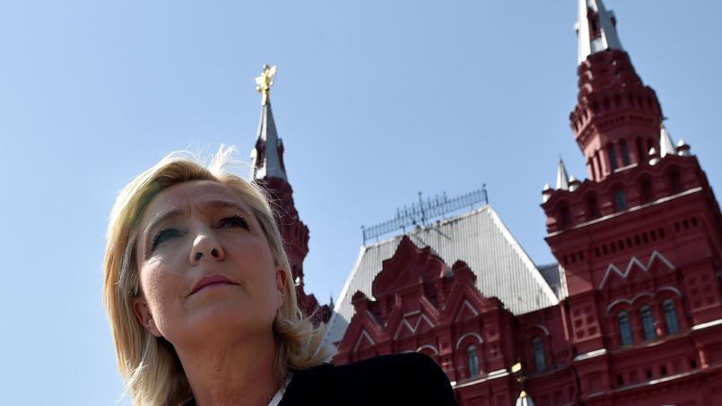 Marine Le Pen à Moscou en mai 2015