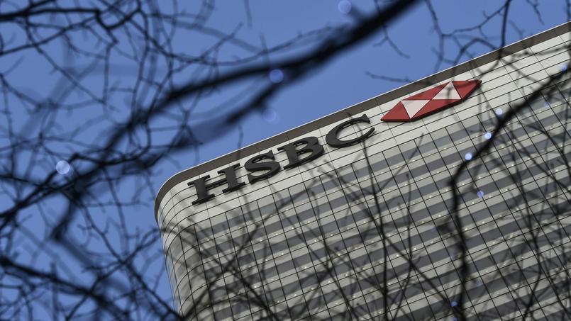 Le siège de HSBC à Londres.