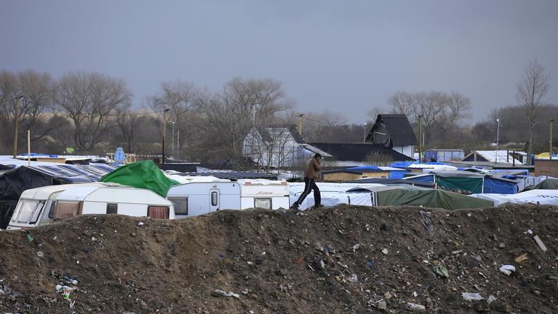 La Jungle de Calais, le 15 février.