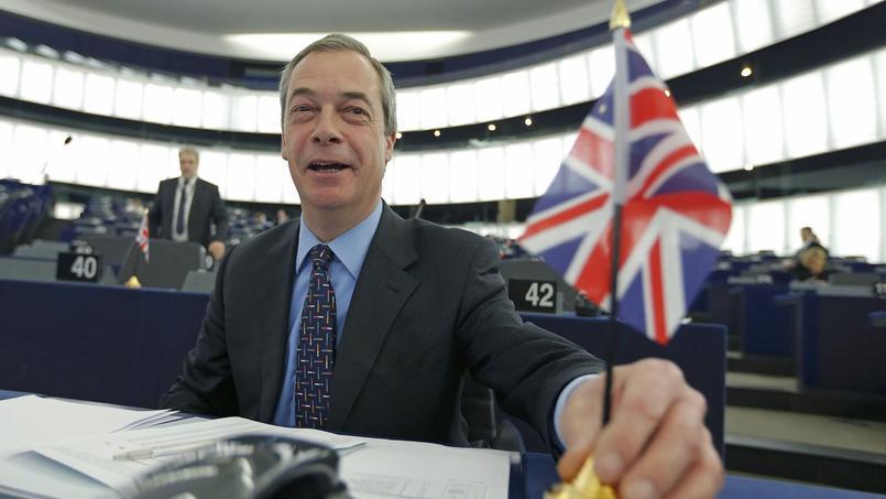 Nigel Farage, leader du parti souverainiste Ukip.