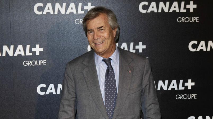 Vincent Bolloré, patron de Canal+